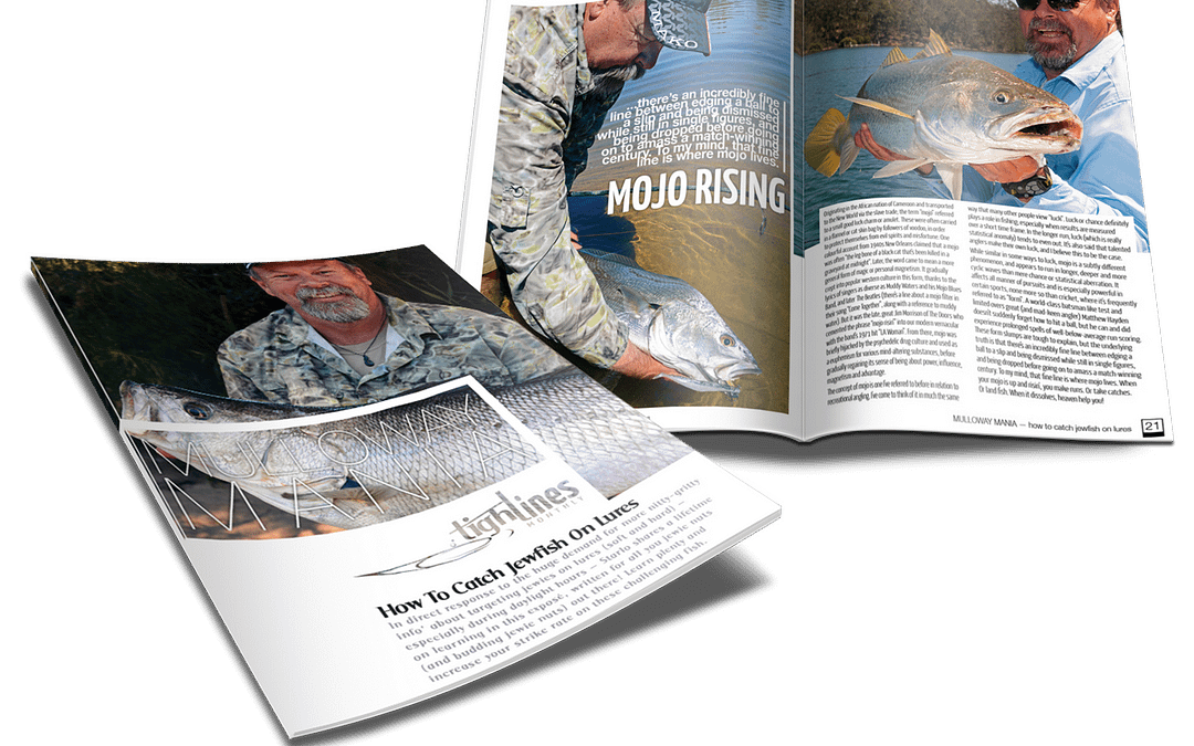 MULLOWAY MANIA — How To Catch Jewfish On Lures