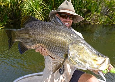 """Glenn """"Watty"""" Watt enjoys A Beer With Starlo — sharing insights into getting the most from fishing trips in the Top End."""