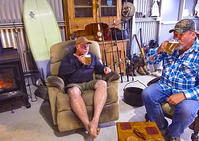 Scott Amon enjoys A Beer With Starlo — talking fishing & fishing magazines.