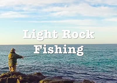 Rock Fishing With Light Gear