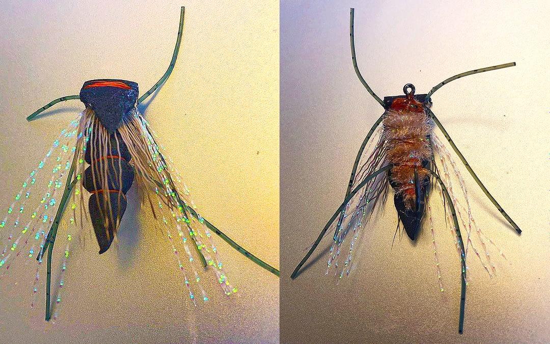 Cicada Fly — designed by Steve Peach