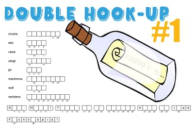DOUBLE HOOK-UP 1