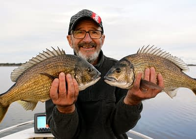Garry McDonald enjoys A Beer With Starlo — talking about why he loves fishing.