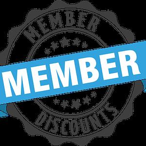 member discount applies