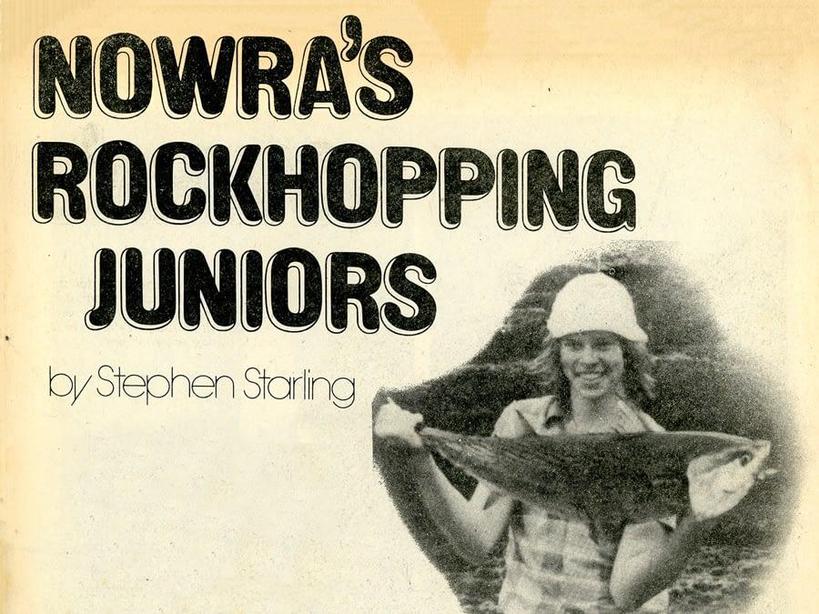 Nowra's Rockhopping Juniors