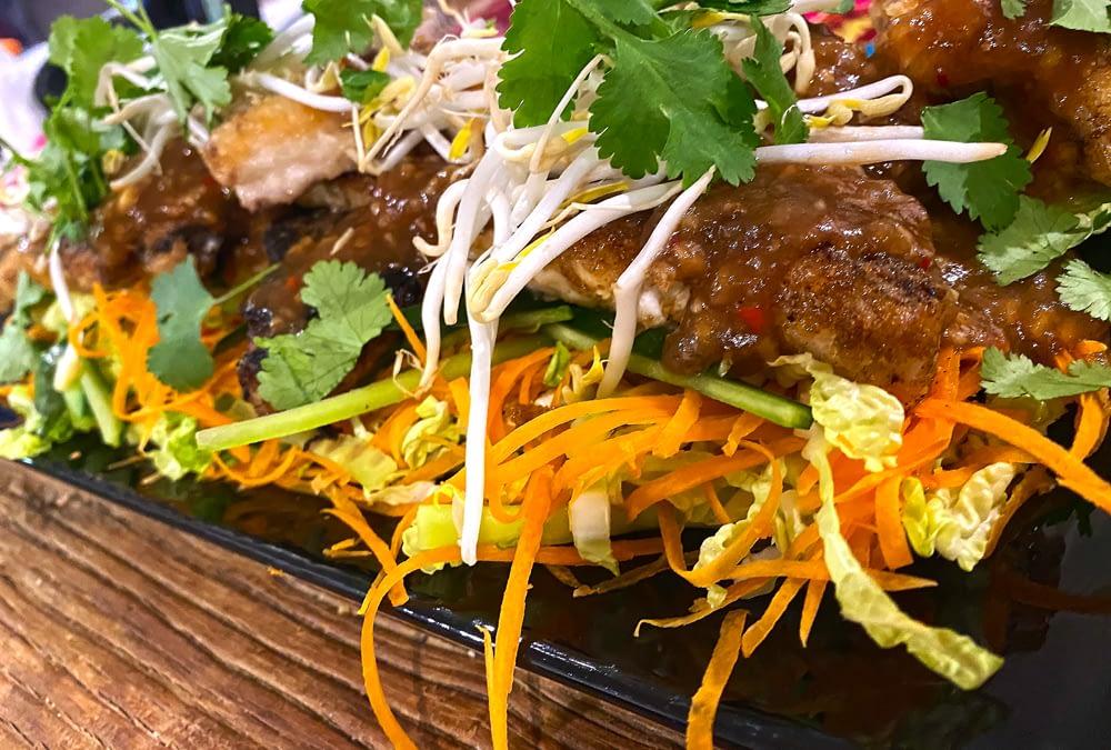 Spicy Tamarind Flathead Tails