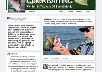 CLICKBAITING : FISHING IN THE AGE OF SOCIAL MEDIA