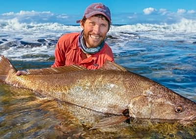"""Andrew Mayo enjoys A Beer With Starlo — talking about his fishing """"sabbaticals"""" and how they help unlock the secrets of mulloway."""