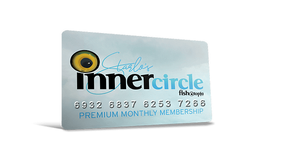 mock up of inner circle monthly membership card. Members do not actually receive a card.