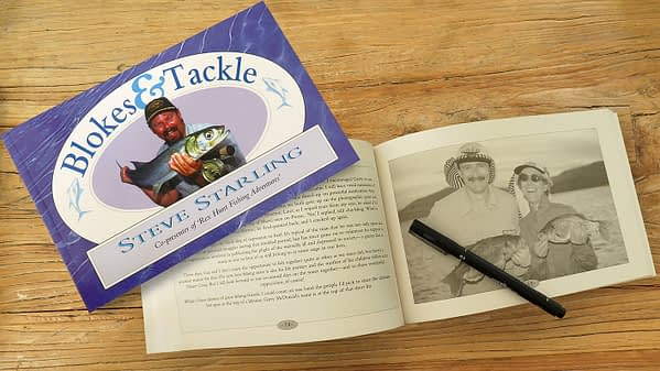 """Get your """"Blokes And Tackle"""" book signed by the author"""