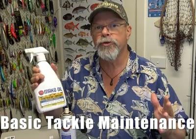 Starlo's Tackle Maintenance Tips — using Mako Oil